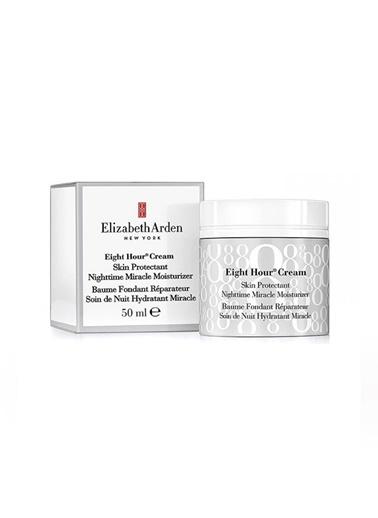 Elizabeth Arden Elizabeth Arden Eight Hour Skin Protectant Nightime Miracle Moisturizer Onarıcı Krem Renksiz